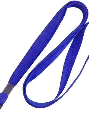 CORDÃO AZUL ROYAL PARA CRACHÁ 420MM