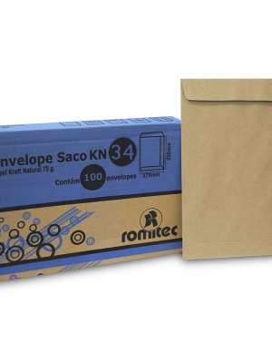 ENVELOPE SACO KRAFT NATURAL KN25 176MM X 250MM