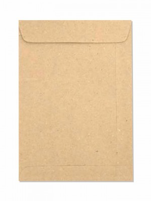 ENVELOPE SACO KRAFT NATURAL - 10 UNID. (162mm X 229mm)